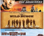 Searchers & Wild Bunch & How the West Was Won [Blu-ray] [Import]