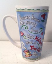 Abbey Press Latte Mug Mothers Time Out Relax Recharge Revive Rediscover 2000