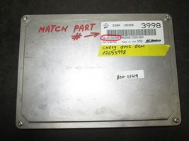CHEVY GMC ECM #12653998 *See item description* - $39.60