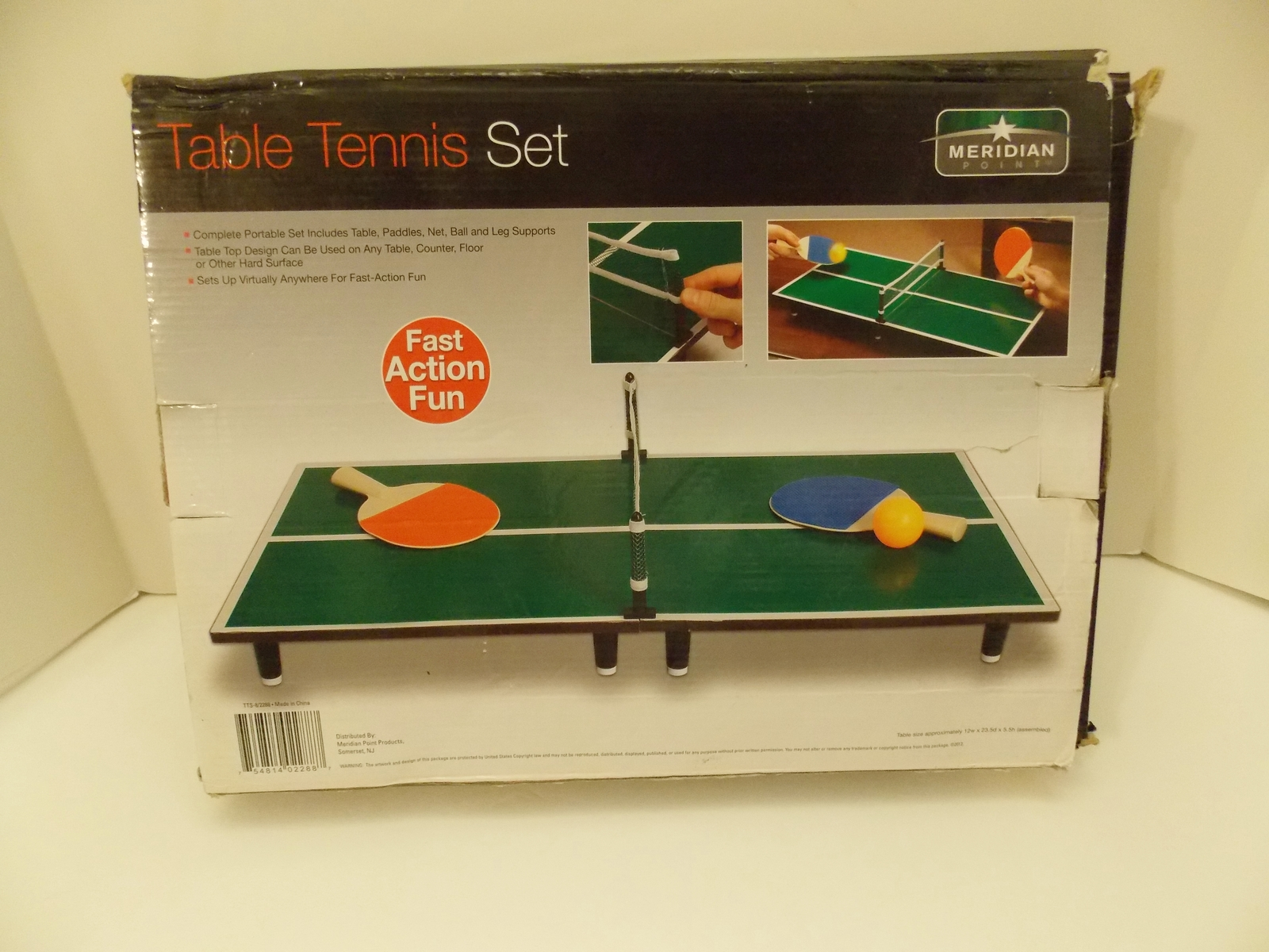 Meridian Point Portable Mini Table Tennis Set NEW! & Meridian Point Portable Mini Table Tennis and 50 similar items