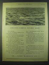 1940 Ford Motor Company Ad - Twenty-Three Years Ago! - $14.99