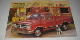 1988 Dodge Ram 100 Pickup Truck Ad - It's gotta be a Dodge - $14.99
