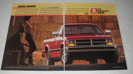 1988 Dodge Dakota Pickup Truck Ad - It's gotta be a Dodge - $14.99
