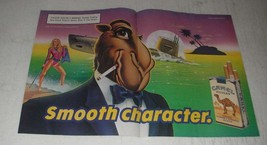 1989 Camel Filters Cigarettes with Joe Camel Ad - Smooth Character - $14.99