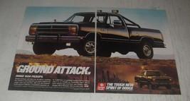 1989 Dodge RAM Pickup Truck Ad - Ground Attack - $14.99