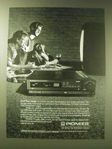 1989 Pioneer CLD-3030 CD/CDV/LaserDisc Player Ad - Front row center - $14.99