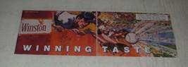 1989 Winston Cigarettes Ad - Winning taste - $14.99