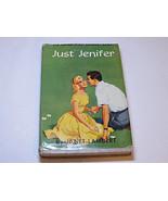 Just Jenifer by Janet Lambert Grosset & Dunlap hardback book 1945 RARE #% - $32.17