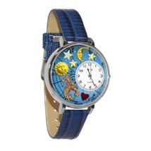 Aquarius Whimsical Watch in Silver (Large) #U-1810001 - $39.94