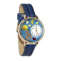 Aquarius Whimsical Watch in Gold (Large) #G-1810001 - $39.94