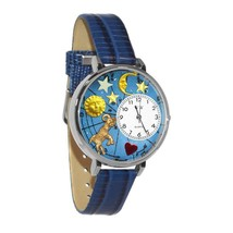 Aries Whimsical Watch in Silver (Large) #U-1810003 - $39.94