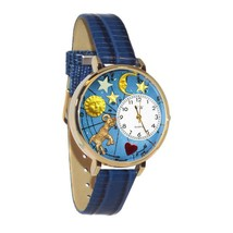 Aries Whimsical Watch in Gold (Large) #G-1810003 - $39.94