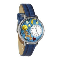 Capricorn Whimsical Watch in Silver (Large) #U-1810005 - $39.94