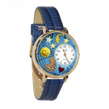 Leo Whimsical Watch in Gold (Large) #G-1810007 - $39.94