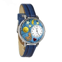 Leo Whimsical Watch in Silver (Large) #U-1810007 - $39.94