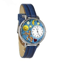 Sagittarius Whimsical Watch in Silver (Large) #U-1810010 - $39.94