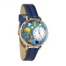 Virgo Whimsical Watch in Gold (Large) #G-1810002 - $39.94