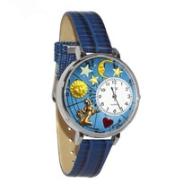 Virgo Whimsical Watch in Silver (Large) #U-1810002 - $39.94