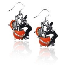 Witch Charm Earrings in Silver #3424S-ER - €17,96 EUR