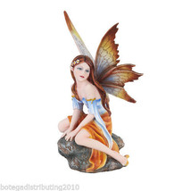 "Autumn Flower 6"" Sitting Fairy Land Legend Figurine Statue Ada de Otonio - $17.99"