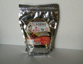 Colageno Hidrolizado 500g, Omega 3-6-9 ( Q10 )(Sabor Frutos Rojos ) ( 1 Bag ) - $16.99