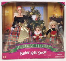 HOLIDAY SISTERS BARBIE KELLY STACIE GIFT SET NRFB - $23.96