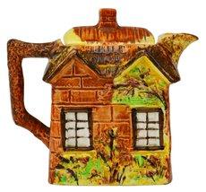 Ceramic Vintage Cottage Price Kensington Orange Retro TEAPOT Novelty Gif... - $91.07