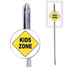 Kids Zone Sign Bookmark - Book Lover Novelty Gifts - $12.41