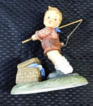 Goebel Fishing For Trouble Figurine - $9.99