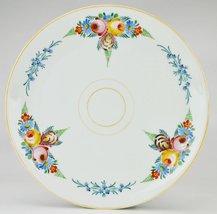 Art Deco Attractive PLATTER Floral Serving Bava... - $49.49