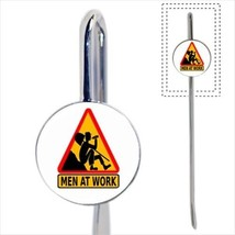 Lazy Worker Yield Sign Bookmark - Book Lover Novelty Gifts - $12.41