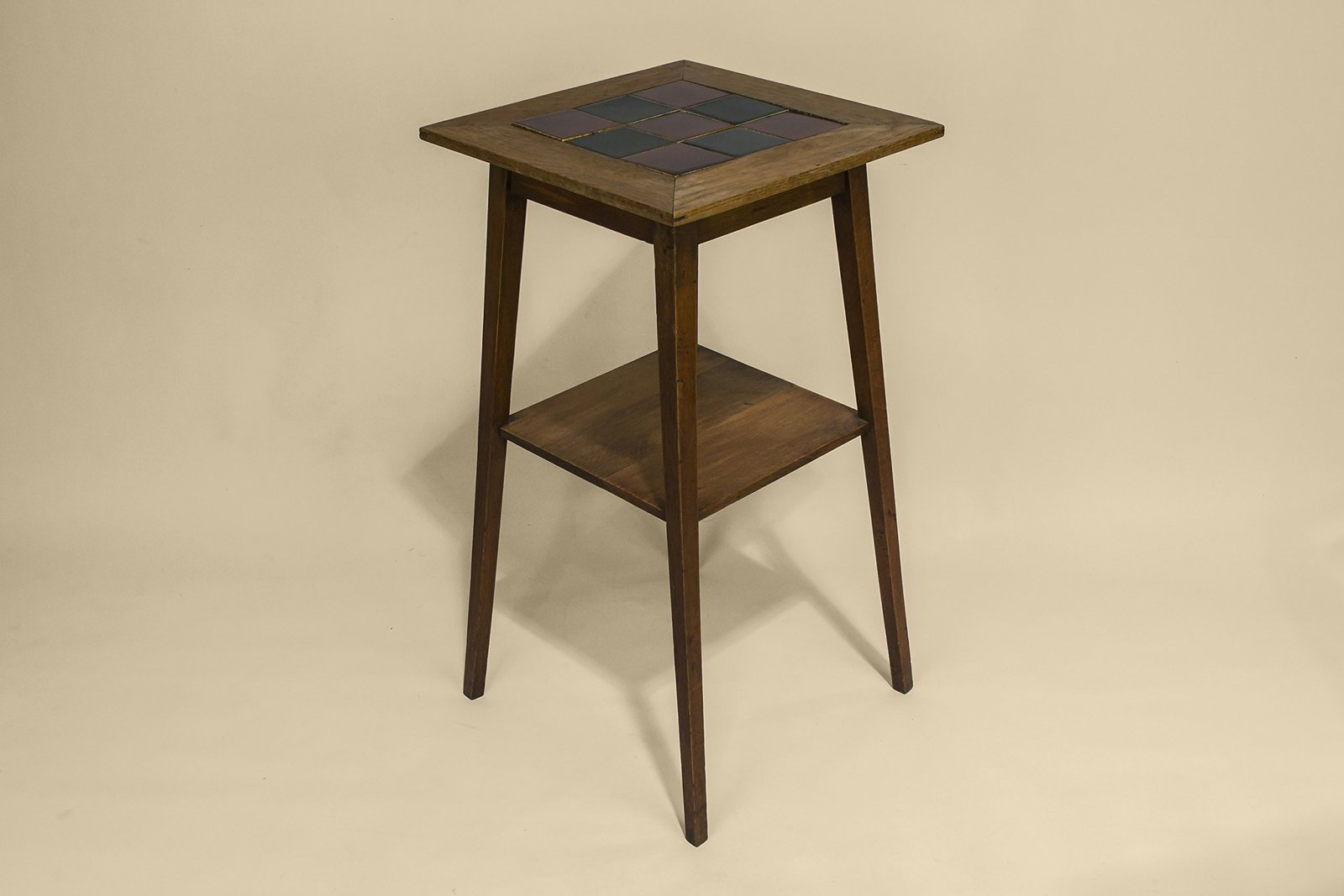 Traditional Antique Minimalist Oak STAND Brown Gift Arts