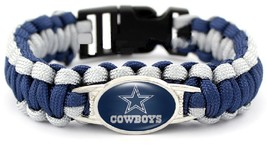 Dallas Cowboys Football Fan Shop Unisex Paracord Wristband - $14.99