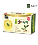 Nokchawon Green Tea With Brown Rice 100 Bags - $19.95