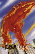 Marvel Metal Prints - Human Torch - $3.49