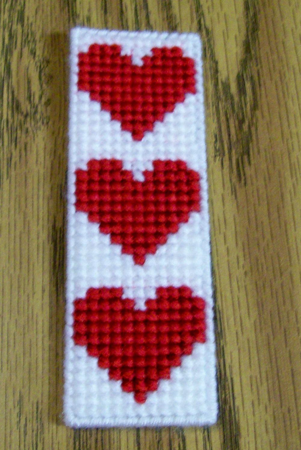 Valentine bookmark  1