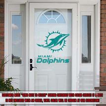 Miami Dolphins Decal Decorating Kit Vinyl Sticker Set Car Cornhole Glass Door RV - $19.59