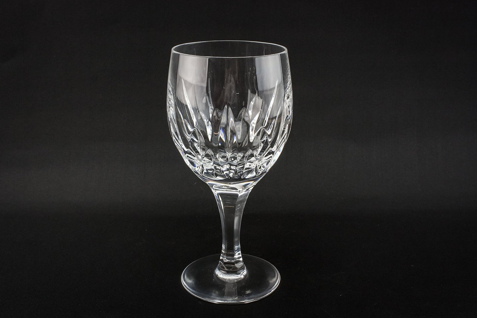6 crystal retro 150ml fluted dessert wine glasses christmas stem large classi kitchen - Fluted wine glasses ...