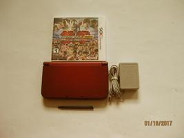 Nintendo New 3DS XL Red 9.0 Firmware version  w Tekken 3d  & More !! - $269.99