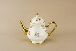 Vintage Mid-Century Modern Pottery Price Kensington Rare Floral TEAPOT A... - $95.03