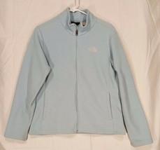 THE NORTH FACE Womens Polartec Fleece Jacket Blue Sz Small - $26.92