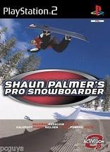 (FBA) Shaun Palmer's Pro Snowboarder (PS2) - Free postage - UK seller - $4.26