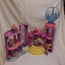 My Little Pony 2002 G3 MLP Celebration Castle playset + Pony's - $53.57