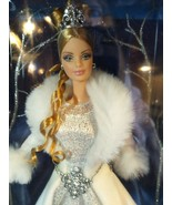 BARBIE WINTER FANTASY FIRST IN SERIES HOLIDAY VISIONS 2003 DOLL NIB  - $31.68