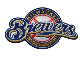 Milwaukee Brewers World Series MLB Baseball Fully Embroidered Iron On Patch - $9.87+