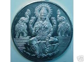 LOOK 0650 Lakshmi Goddess OM Silver Charm Elephant Hindu - $37.61