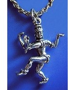 LOOK 3D Hindu Sterling silver .925 Lord Shiva Pendant Charm - $18.30