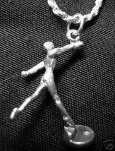 LOOK Ballet silver jewelry pendant Charm Dance - $7.09