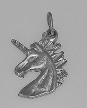 LOOK Celtic mystic Unicorn Sterling Silver 925 Charm Jewelry - $15.14