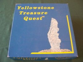 Yellowstone Treasure Quest Educational Game VGC 1988 - $15.00